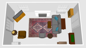 couch, table, swivel