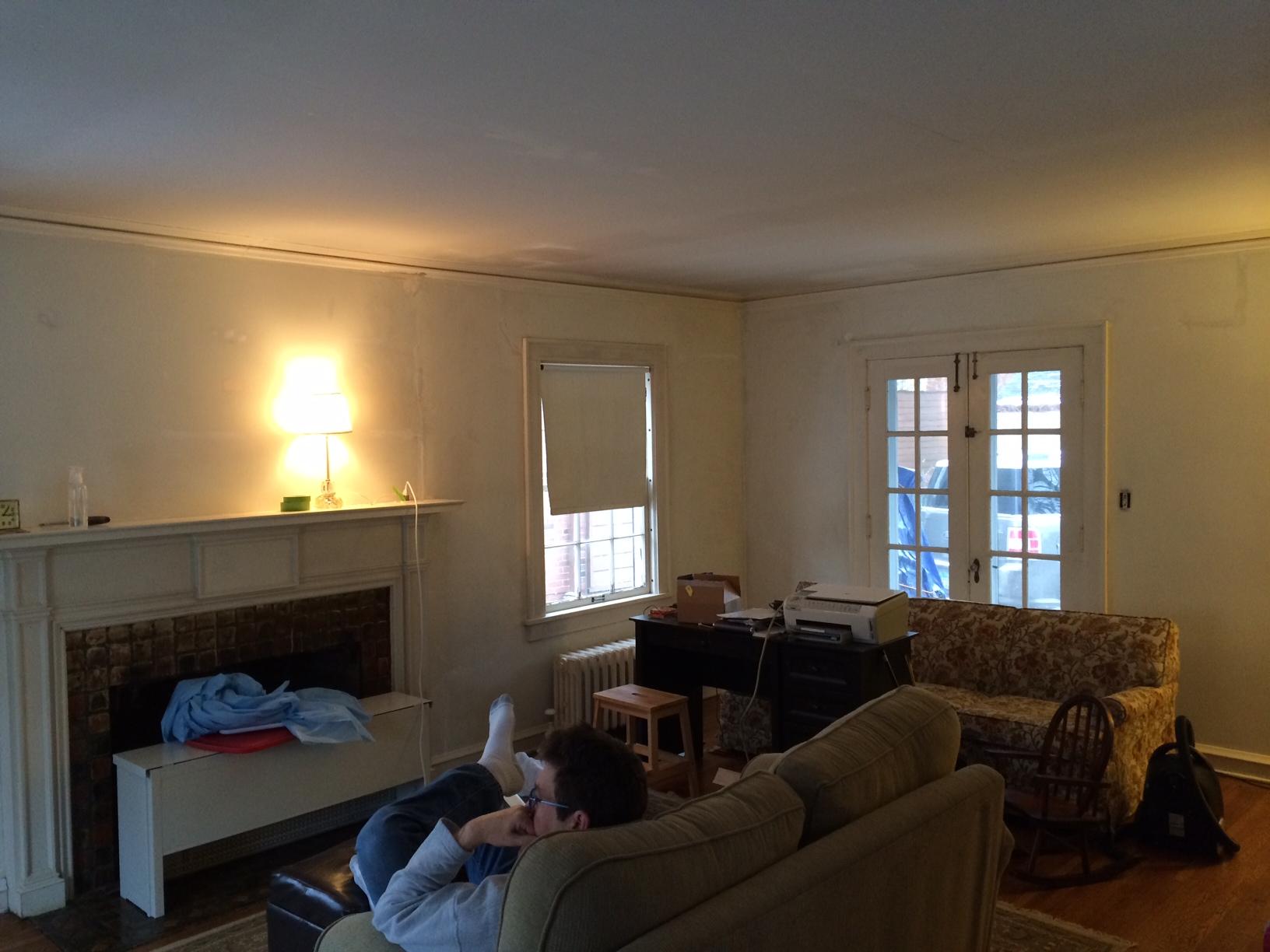 Help me layout our living room ka ka ka katy for Living room 4 doors
